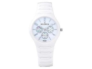 Skagen 817SXWC1 White Ceramic Unisex Watch