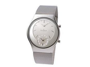 Skagen 733XLSS Steel Unisex Watch