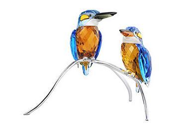 Swarovski 945090 Blue Turquoise Kingfishers