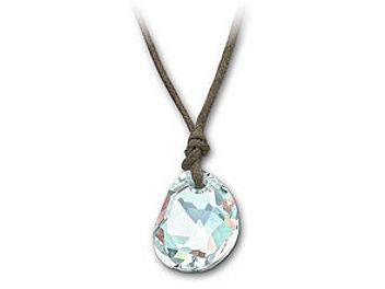 Swarovski 940245 Galet Light Azore Blue Mini Pendant
