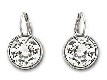 Swarovski 883551 Bella Clear Crystal Pierced Earrings