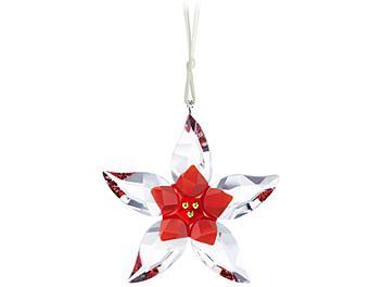 Swarovski 905212 Poinsettia Ornament