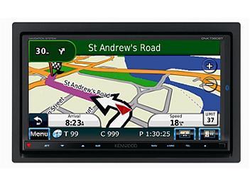 Kenwood DNX7360BTNAV 7-inch Wide Double-DIN Size Navigation Bluetooth Built-In