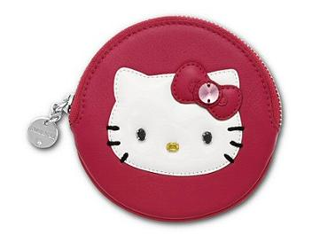Swarovski 1110814 Hello Kitty Fuchsia Coin Purse