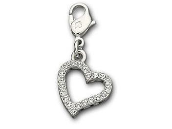 Swarovski 973756 Love Heart Charm