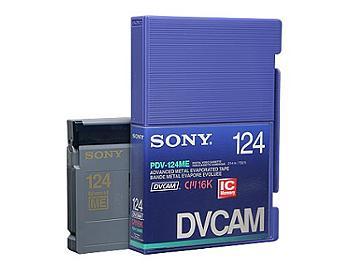 Sony PDV-124ME/2 DVCAM Cassette (pack 10 pcs)