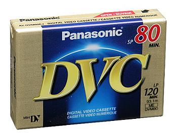 Panasonic AY-DVM80EJ mini-DV Cassette (pack 20 pcs)