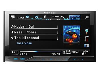 Pioneer AVH-P4350DVD 7-inch In-Dash Double-Din DVD Multimedia AV Receiver
