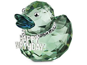 Swarovski 1078531 Happy Birthday Duck
