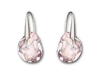 Swarovski 856299 Galet Light Amethyst Pierced Earrings