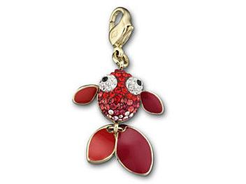 Swarovski 1051384 Red Fish Charm