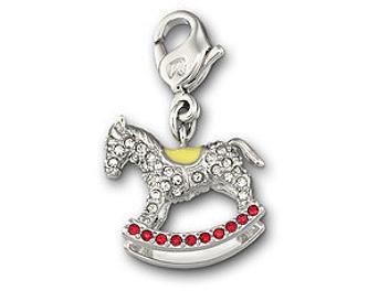 Swarovski 1064966 Rocking Horse Charm