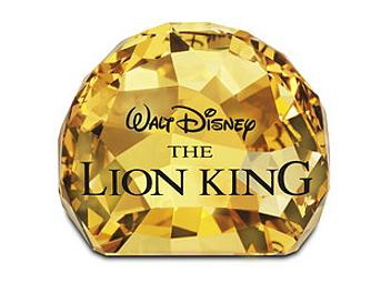 Swarovski 1055087 Title Plaque - The Lion King