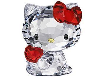 Swarovski 1096878 Hello Kitty Red Apple