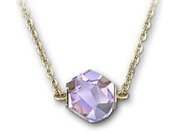 Swarovski 1086435 Nuts Violet Necklace