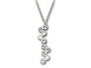 Swarovski 1106361 Fidelity Blue Necklace