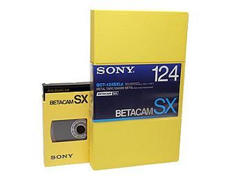 Sony BCT-124SXLA Betacam SX Cassette (pack 10 pcs)