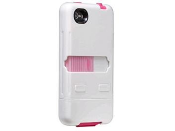 Case Mate CM016805 Tank Rugged Case for the Apple iPhone 4 and 4s - White/Pink