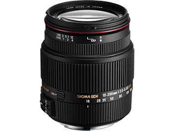 Sigma 18-200mm F3.5-6.3 II DC OS HSM Lens - Canon Mount