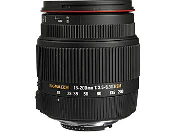 Sigma 18-200mm F3.5-6.3 II DC OS HSM Lens - Nikon Mount