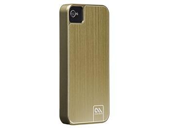 Case Mate CM018401 Brushed Aluminium Case for iPhone 4/4S -Gold