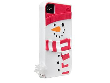 Case Mate CM017049 Snowman iPhone 4/4S Silicone Case