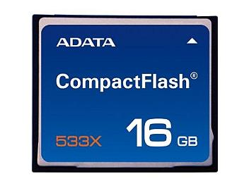 A-DATA 16GB CompactFlash 533x Memory Card (pack 2 pcs)