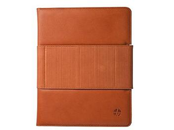 Trexta Rotating Folio iPad 2 Case - Camel