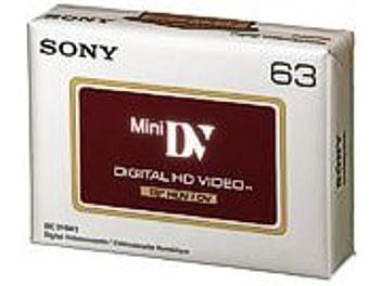 Sony DVM-63HD HDV Cassette (pack 6 pcs)