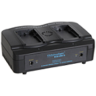 Globalmediapro SCQ2-DC-S 2-channel Charger + 2 x DC970 Battery 47Wh
