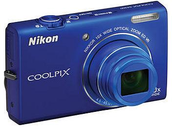 Nikon Coolpix S6200 Digital Camera - Blue
