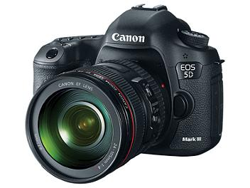 Canon EOS-5D Mark III DSLR Camera Kit with Canon EF 24-105mm F4L IS USM Lens
