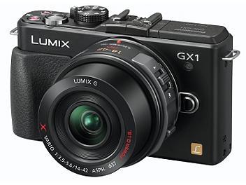 Panasonic Lumix DMC-GX1X Camera PAL Kit with 14-42mm Lens - Black