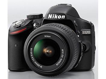 Nikon D3200 DSLR Camera Kit with 18-55mm VR Lens