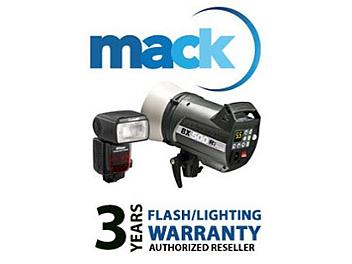 Mack 1175 3 Year Flash/Lighting International Warranty (under USD1250)