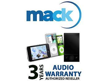 Mack 1288 3 Year Audio International Warranty (under USD20000)