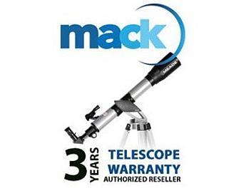 Mack 1243 3 Year Binocular/Telescope International Warranty (under USD7500)