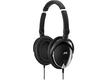 JVC HA-S600 Foldable Around-Ear Stereo Headphones - Black