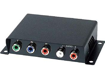 Globalmediapro SCT YE01A Component Video and Stereo Audio CAT5 Extender (Transmitter and Receiver)
