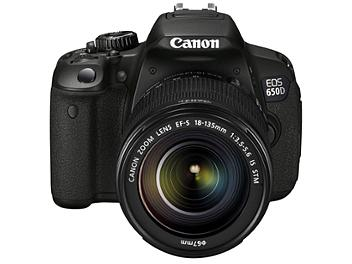 Canon EOS-650D DSLR Camera Kit with Canon EF-S 18-135mm IS STM Lens
