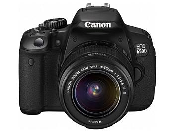 Canon EOS-650D DSLR Camera Kit with Canon EF-S 18-55mm IS II Lens