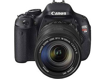 Canon EOS-600D DSLR Camera Kit with EF-S 18-135mm Lens