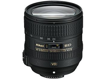 Nikon 24-85mm F3.5-4.5G ED AF-S VR Nikkor Lens