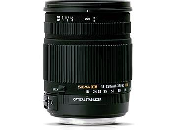 Sigma 18-250mm F3.5-6.3 DC Macro HSM Lens - Pentax Mount