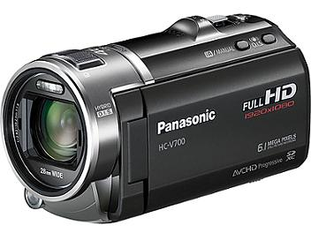Panasonic HC-V700 HD Camcorder PAL - Black