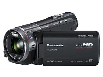 Panasonic HC-X900M HD Camcorder PAL - Black