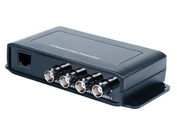 Globalmediapro SCT TTP414VH 4-Channel Video Transceiver with Extra Interference Rejection