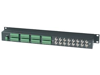 Globalmediapro SHE TPP016D 16-Port Passive Video & Data Transceiver Hub