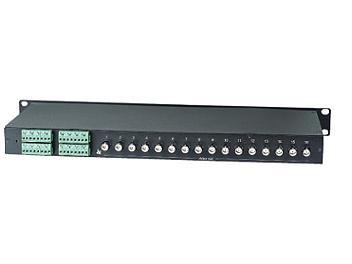 Globalmediapro SHE TPP016GB 16-Port Passive Video Transceiver Hub