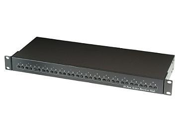 Globalmediapro SHE TPA016 16-Port Active Receiver Hub